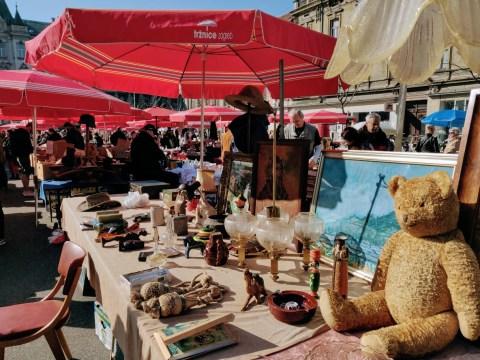 British Square Flea Market Two Day Guide to Zagreb