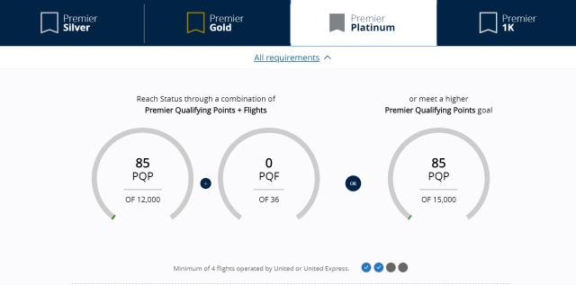 Premier Platinum Status