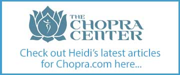 Heidi Hackler's nutrition articles on Chopra Centered Lifestyle: http://www.chopra.com/bios/heidi-hackler