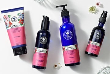 NYR Organic Wild Rose Bath & Body Collection