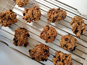 healthy-licious oatmeal cookies