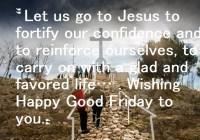 Good Friday 2020 Message Prayer