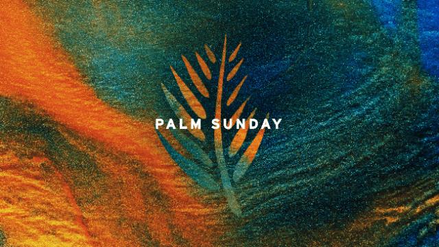 Palm Sunday 2020 Images
