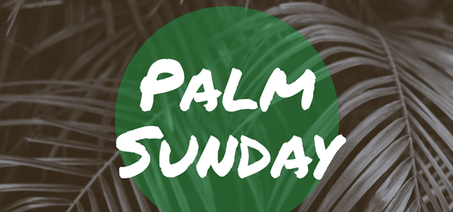 Palm Sunday Sign