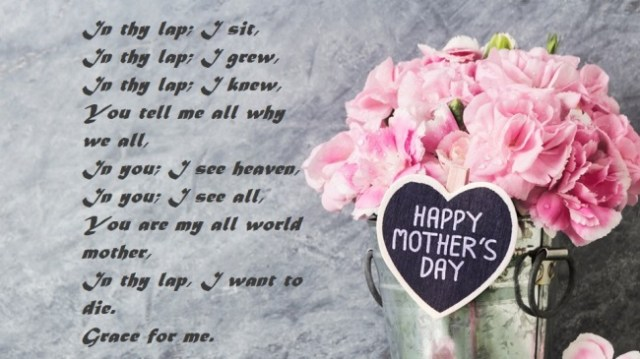 Happy Mothers Day 2020 Poems and Poems Images