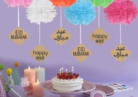 eid mubarak decorations 2020