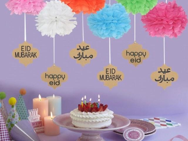 Eid Mubarak Decorations 2020 | Ideas and Images of Eid Decorations