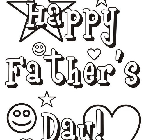 Happy Fathers Day 2020 Coloring Pages Free Download Now
