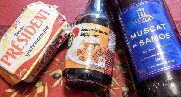 recette boeuf aux oignons sauce soja muscat