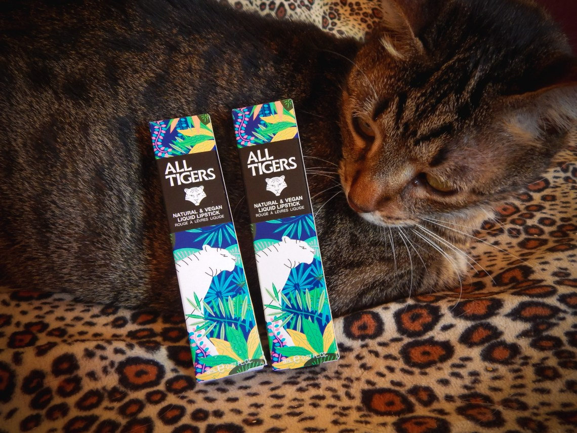 All tigers lipstick green vegan