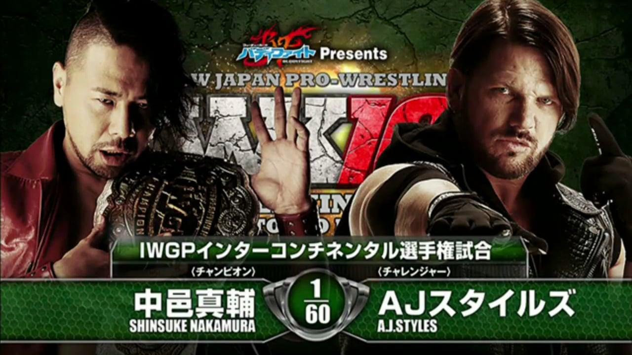 NJPW on AXS: Wrestle Kingdom 10 (1/4/16) – HAPPY WRESTLING LAND