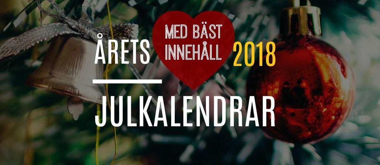 Julkalendrar 2018