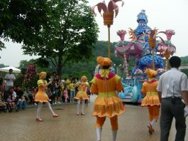 Parade at Everland