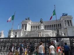 Il Vittoriano at Piazza Venezia