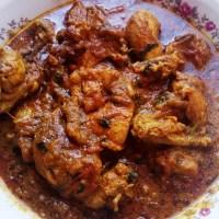 Chicken pippuri