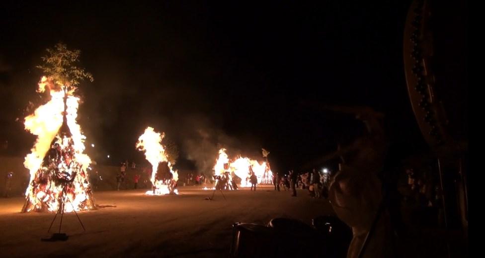 火祭り「福山とんど」