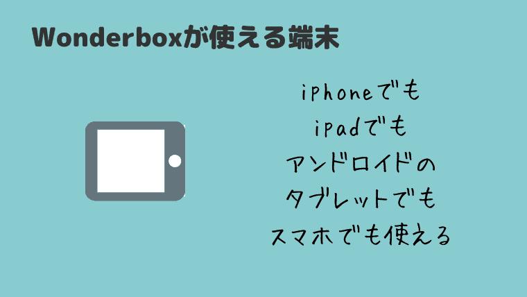 ワンダーボックス アプリ