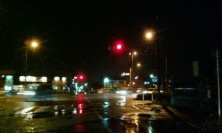 雨のルート1