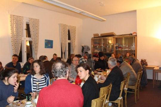 Weihnachtsfeier Nachtcafé Arche