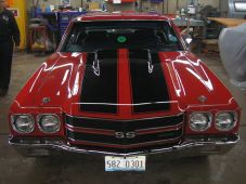 Red and Black Chevelle (3)