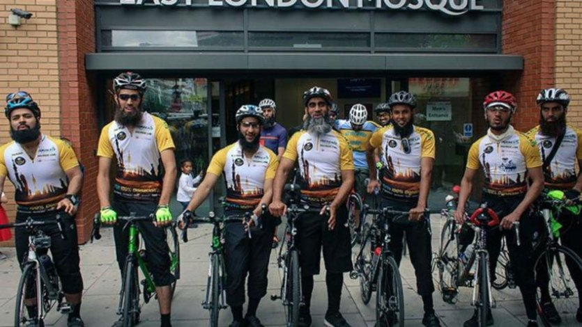 8 British Muslims Cycling From London To Medina For Hajj 2019