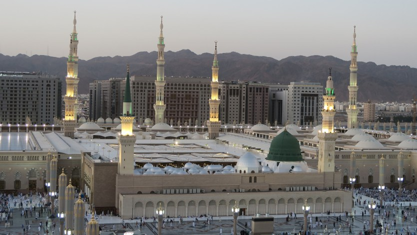 15 Important places inside Masjid Nabawi