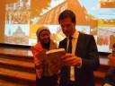Bersama Perdana Menteri Belanda, Mark Rutte