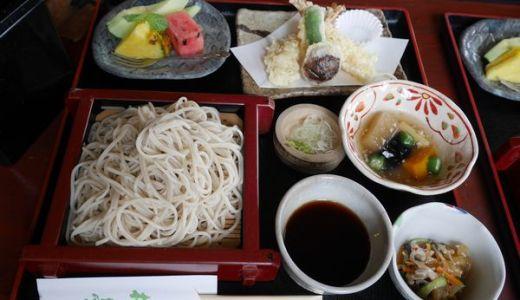 鎌倉檑亭(らいてい)日本庭園を眺めながら美味しい蕎麦定食がいただけます!