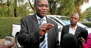 Exiled former cabinet minister Jonathan Moyo