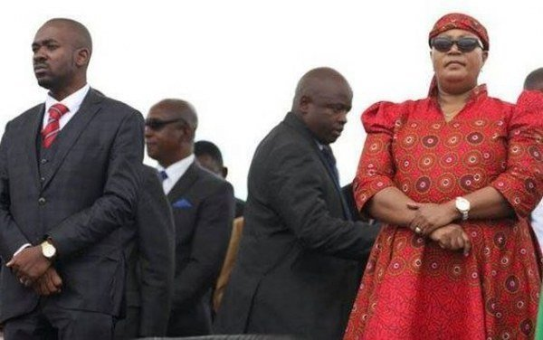 Chamisa and Khupe when they were still bed buddies