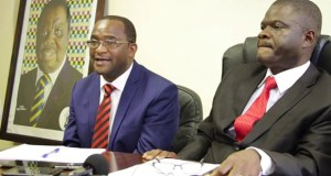 Addressing the press after the MDC-T Standing Committee meeting Mwonzora said that Morgan Tsvangirai House belonged to MDC