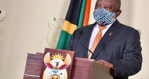 Ramaphosa addresses South Africa on schools reopening
