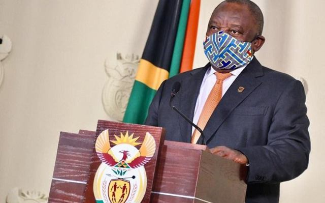 Ramaphosa addresses South Africa