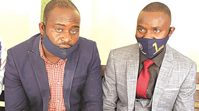 the councillor with lawyer, Obey Shava