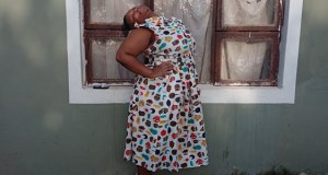 Sinegugu Ngubo suffers from a rare condition that has her neck involuntarily spasming in pain Image: Supplied