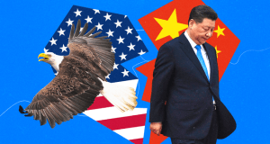The Trump administration has moved aggressively to limit China's access to U.S. technology and to block Chinese high-tech companies, most famously telecommunications equipment giant Huawei,