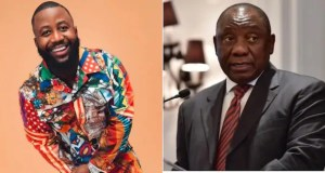 Cassper Nyovest in soup for 'disrespecting' Ramaphosa