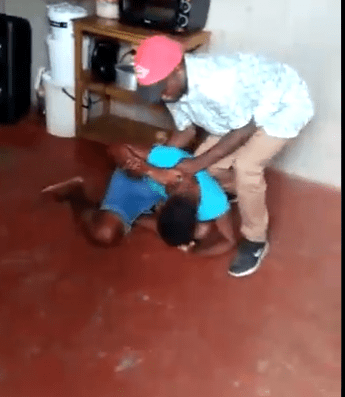 Outrage As Baba Beats Up 'Cheating' Wife In Viral Video
