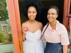 Zahara And Late Nomonde/ Photo File: Instagram