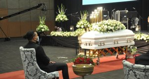 AKA at Anele's funeral