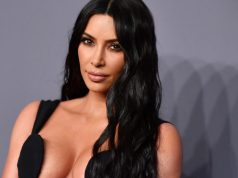 In this file photo taken on February 6, 2019, US media personality Kim Kardashian West arrives to attend the amfAR Gala in New York. - Kim Kardashian found herself caught up in an unlikely international art smuggling row on May 4, 2021 involving an ancient Roman sculpture that was imported to California under her name. (Photo by ANGELA WEISS / AFP)