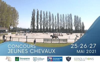 Concours JEUNES Chevaux & Poneys – 25/26/27 MAI
