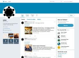 A Twitteren nyomon követhető változások nem mutatnak túlzott aktivitást a weboldalon.