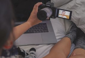 Webkameraként is használhatók egyes Canon fényképezőgépek