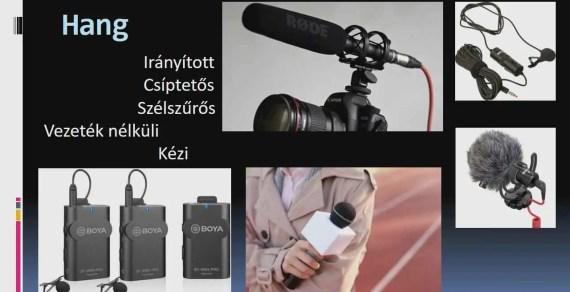 Videók és fotók készítése és beépítése az előadásokba