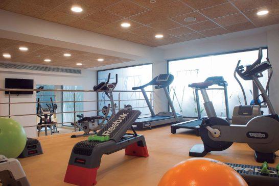 AZ Hotel Zeralda - salle de sport