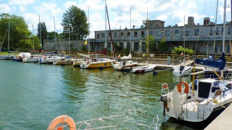 Port w Tolkmnicku - Harba