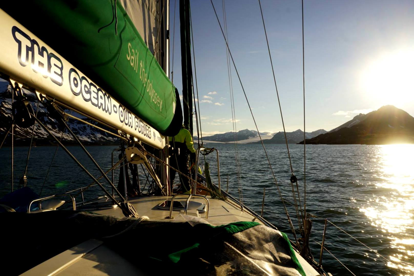 A sailing trip to Svalbard - Harba