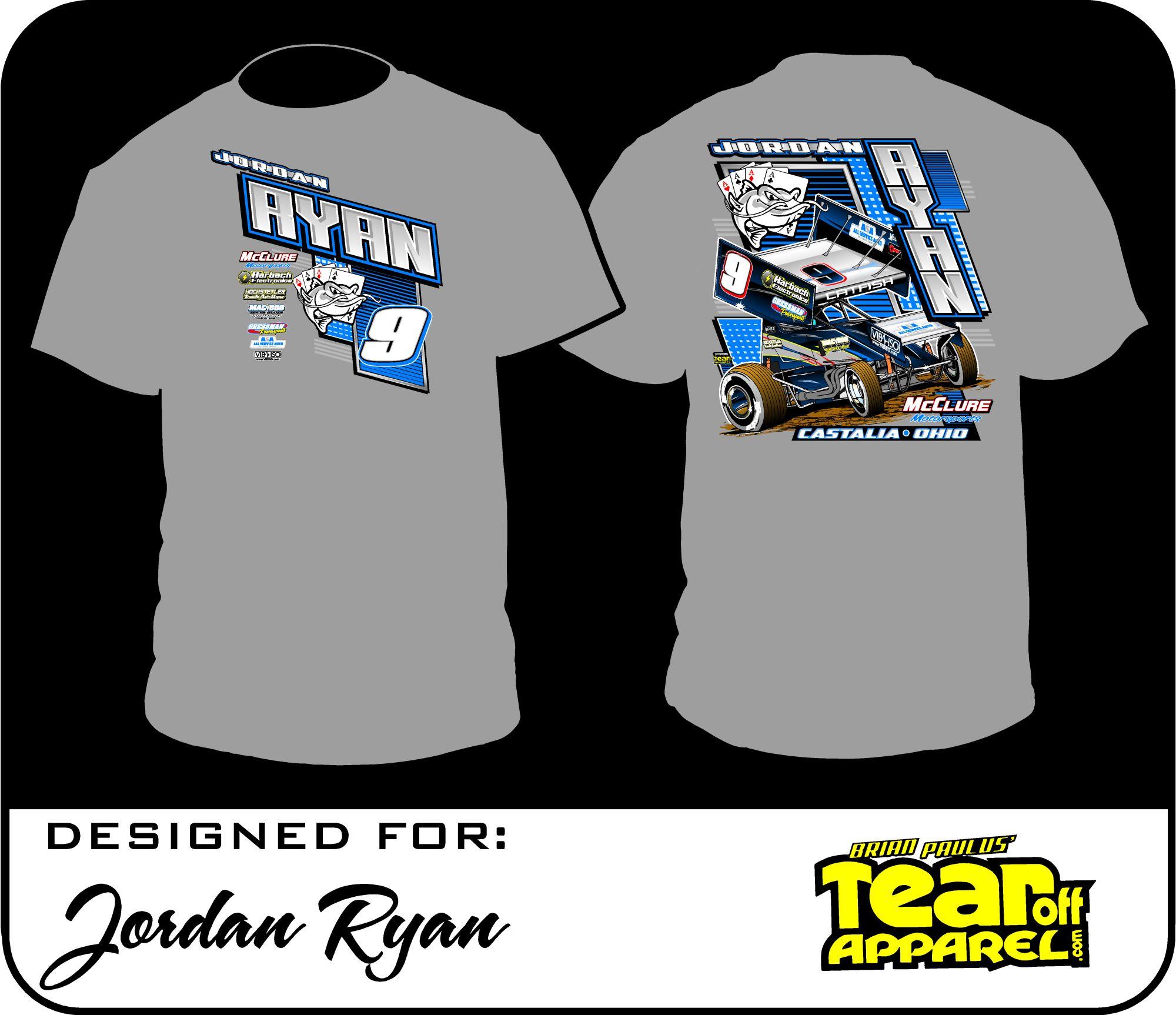 meilleur site web ac827 8c890 Jordan Ryan Racing T-Shirt