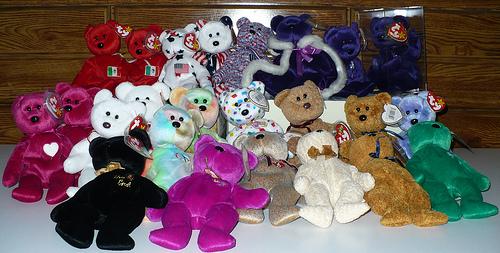 Beanie Baby Bears